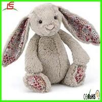 LE C1596 organic easter bunny stuffed plush toy