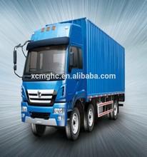 Cheap XCMG 6X2 drive type hydraulic van cargo truck