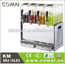 Wholesale China Import fruit juicer dispenser 3tank