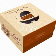 Food-grade small cake box cake packaging