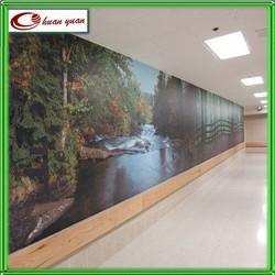 heavy duty vinyl printed wallpaper manufacturer