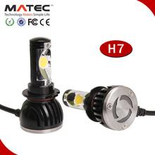 High Lumen Best Quality cob led h7 headlight