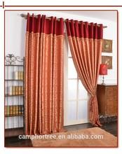 Jacquard curtain fabric high quality Classic European style