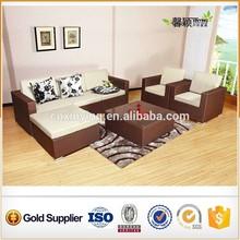 good quality home /ourdoor furniture rattan sofa