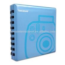Takashi Soft Jelly Mini Album - Blue for Fujifilm Instax Mini Instant Film / Polaroid 300