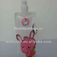 foldable water bottles 480ml bpa free