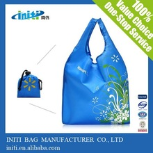 2015 China Alibaba new waterproof foldable 600D polyester bag for shopping