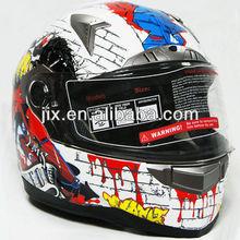 2014 DOT ECE single visor scooter motor full face casco