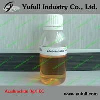 Azadirachtin 0.3% EC neem oil biological insecticide