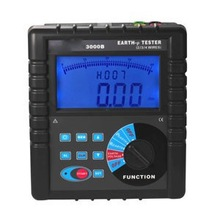 portable ground resistance tester series earth voltage tester and Soil Resistivity Tester