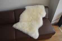 Brand New XXL Extra Large White Lvory Genuine Merino Sheepskin Real Fur Rug