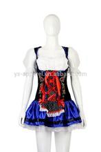 high quality german beer girl costume