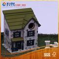 Arbre de jardin- montées. cage à oiseaux décoratifs/maison d'oiseau en bois/nid d'oiseau en bois