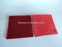 Anti-slip waterproof pvc shaggy mat