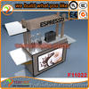 2014 Unique supply customized food carts for sale, food vending carts for sale, coffee cart with crepe cart