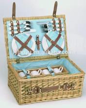 2 people willow picnic basket