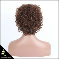 New product human hair wig with baby hair,7A grade indian human hair wigs for black women