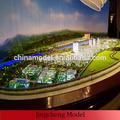 3d architettura modello di edificio per master planning città