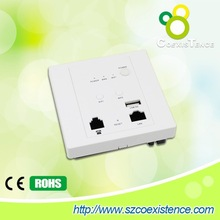 new jack design 3g wifi router 2.4Ghz 300mbps wireless wall mount access point with poe power supply as 3g modem