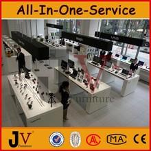 Retail furniture for digital cell or mobile phone shop interior design