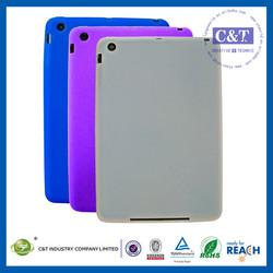 C&T Made in China custom design silicone cute cases for ipad mini