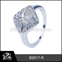 Silver and CZ Inlaid, turkish wedding ring