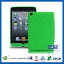 C&T Large Quantity Slim gel case for ipad mini silicone case/cover