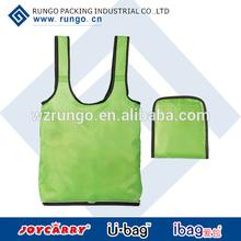 Foldable easy shopping tote bag