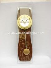antique design pendulum wall clock(HY-9814)