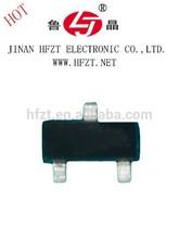 PNP SOT-23 BC857 plastic-encapsulate general purpose transistors