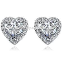 Foreign AAA-selling European and American luxury zircon earrings jewelry