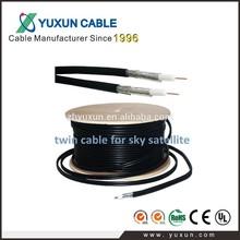 UK WF65 Twin Cable Shotgun TV Aerial & Satellite Cable