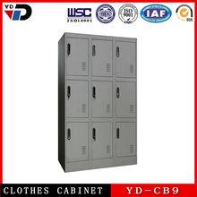 High quality gym metal 1 single door locker ,custom storage clothing wardrobe locker, steel office and school locker cabinet