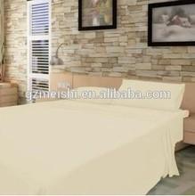 polycotton stripes hotel bedding sets wrinkle free