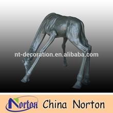 Antique finish Bronze Giraffe statue NTBA-DG003