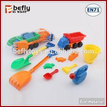 Promotional plastic toy beach shovel