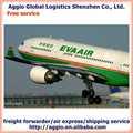 aggio la china de logística de servicio de mensajería dhl de seguimiento