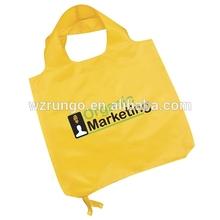 Reusable portable foldable shopping bag from China