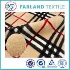 plaid flannel fleece blanket fabric winter essential warm bedding set raw material