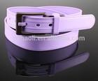 2014 Fashionable Cross Stitched Silicone Plastic Belt