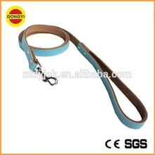 colorful wholesale pitbull leather dog leashes of 120cm
