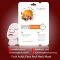 pelar la máscara para la humedad de curado y el acné con los ácidos de frutas de la cara y el cuello de la máscara