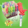 apito brinquedos do papagaio de brinquedo com doces