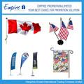 Atacado promocional europa bandeira do país diferentes tipos de bandeira nacional publicidade ao ar livre bandeira de praia