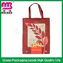 heat side sealable felt non woven tote shopping bag