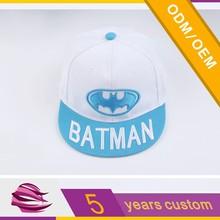 Batman logo fashion children snapback cap