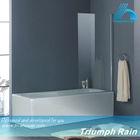 AOOC1507CL shower glass panels bath shower screens