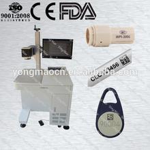 2014 desktop fiber optical laser marker tool for silver marking