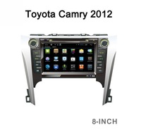 """8.0""""android 4.4.2 car dvd with gps for toyota 2012 camry"""