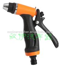 plastic garden spray gun with adjustable nozzle